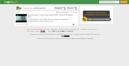Serrurier pour Pas Cher  | Serrurier-Pas-Cher.Anygator.Com