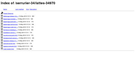 Serrurier Lattes 34970 | Artisans Serruriers