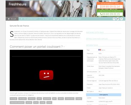 Serrurier Île-de-France Tel : 09.80.09.01.13 ...