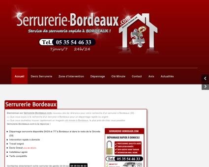Serrurerie-Bordeaux | Tel : 05 35 54 46 33...