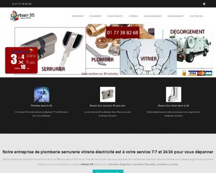 Serrurier Plombier Vitrier | Artisan 95 val d Oise