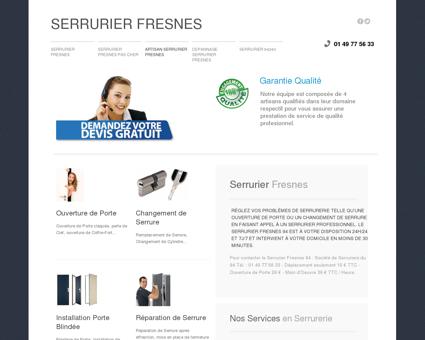 Serrurier Fresnes