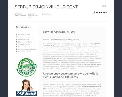 Serrurier Joinville-le-Pont