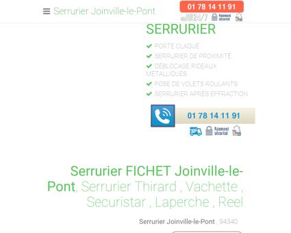 Serrurier Joinville-le-Pont - [ 01 78 14 11 91 ]...