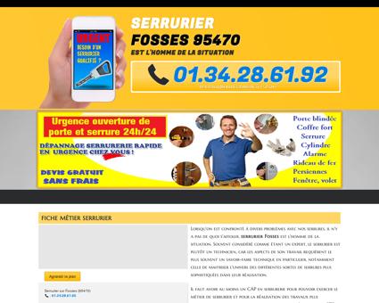 Serrurier Fosses : 01.34.28.61.92 réparation