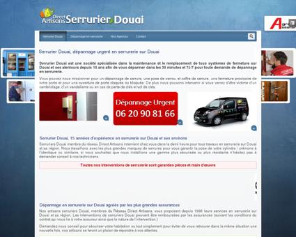 Serrurier Douai, dépannage en serrurerie au 06...