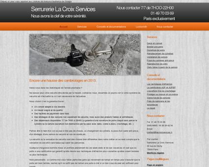 Serrurerie La Croix Services, des serruriers de...