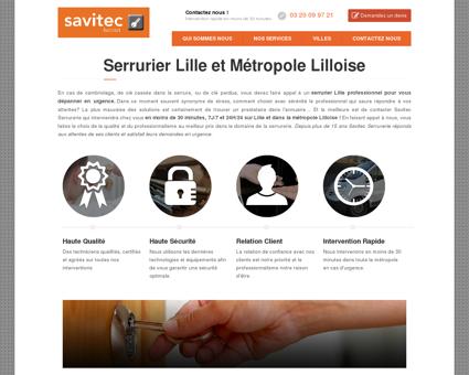 Serrurier Lille (59000) - Dépannage Serrurerie à...