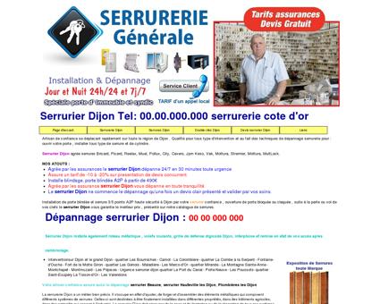 Serrurier Dijon : 03.73.275.277 serrurerie cote...