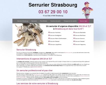 Serrurier Strasbourg : 03 67 29 00 10