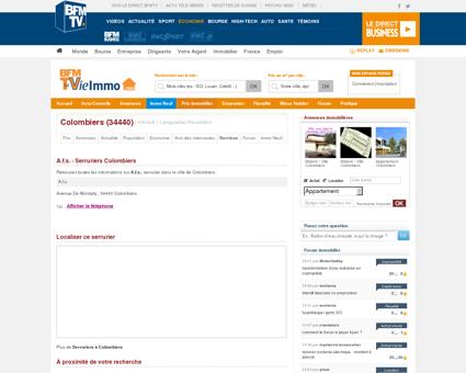 A.f.s. - Serruriers Colombiers | LaVieImmo.com