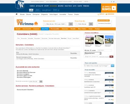 Annuaire des Serruriers - Colombiers 34440 |...