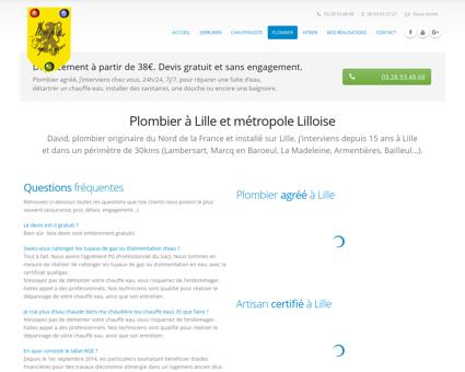Plombier Lille (59000), chez vous en 10mn !...
