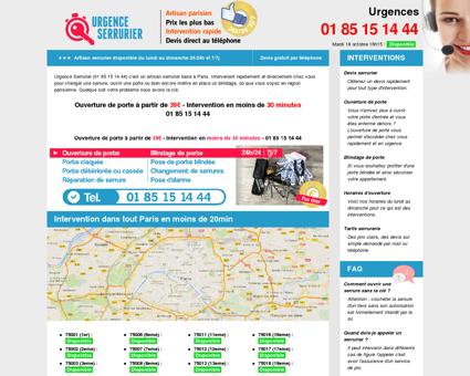 Urgence Serrurier Paris pas cher 24h/24 7j/7 -...