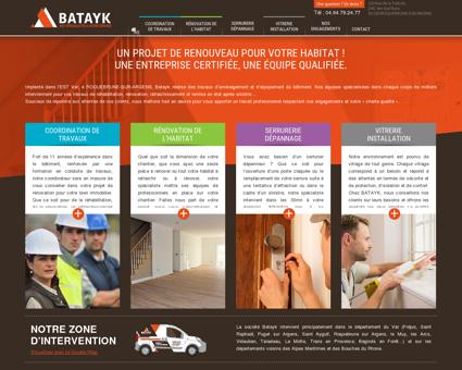 Batayk, travaux d'aménagement et...