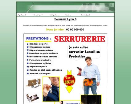 Serrurier Lyon 8 Tel: 04 82 53 75 75 Serrurerie,...