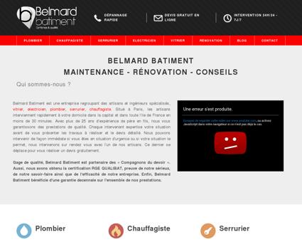 Belmard Batiment   Confiance & Qualité
