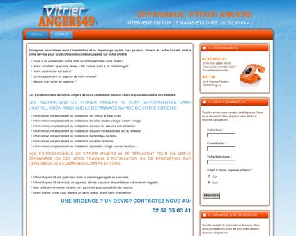 Vitrier Angers 49 Dépannage express 02 52 35...