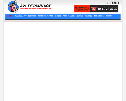 A2+ Dépannage Serrurier Lyon Vitrier Lyon, 7...
