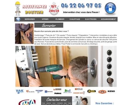 Assistance Bouvier - Serrurier, vitrier, plombier ...