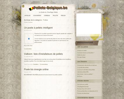 Pellets Belgique » Poêles