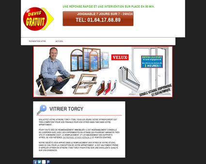 Vitrier Torcy - Frederic vitrier prix