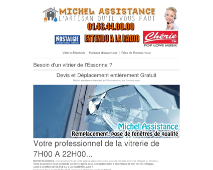 Vitrier Massy | Michel-Assistance.com
