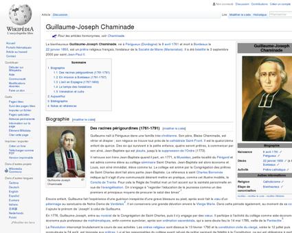 Guillaume-Joseph Chaminade  Wikipédia