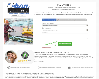 Vitrier Montigny | lebonvitrier.pro