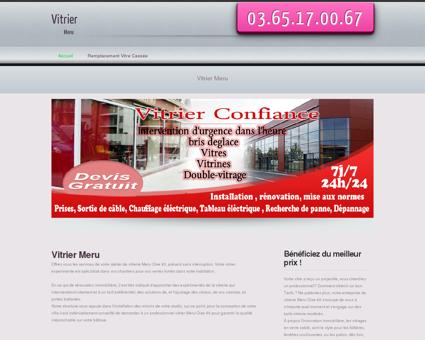 Vitrier Meru | Mathieu Vitrage simple