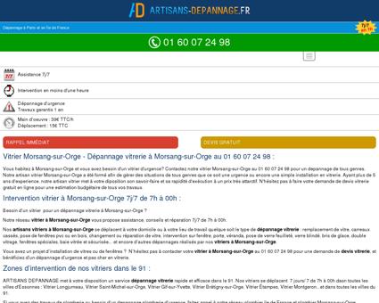 Vitrier Morsang-sur-Orge 91390 -...