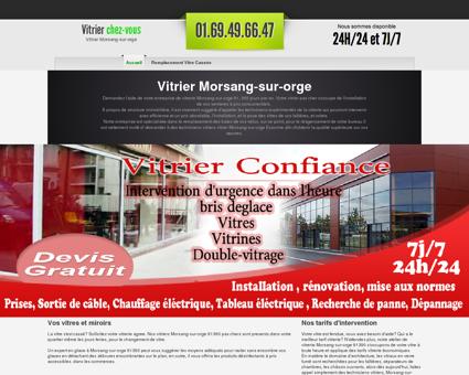 Vitrier Morsang-sur-orge, 91 - Equipe...
