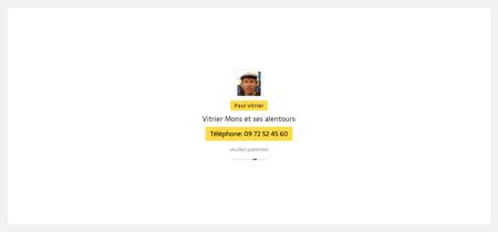 Vitrier Vitrier Mons - Installation - Dépannage - Devis!