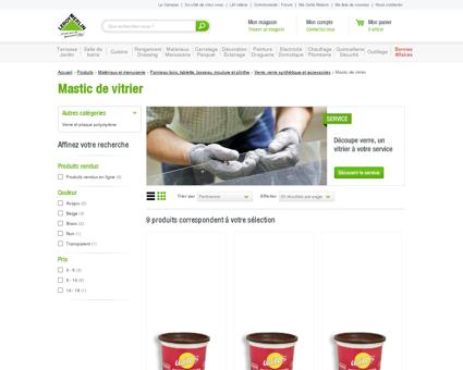 Mastic de vitrier - Verre, plaque polystyrène et...