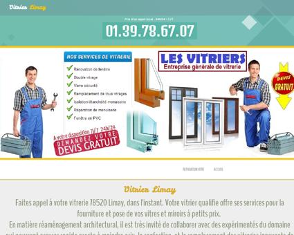 Vitrier 78520 Limay - Urgence vitrier urgence