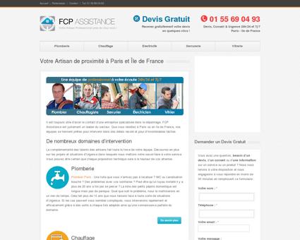 FCP Assistance : Services de travaux d'urgence...