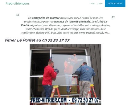 Entreprise de vitrerie Le Pontet: 09 72 50 27...