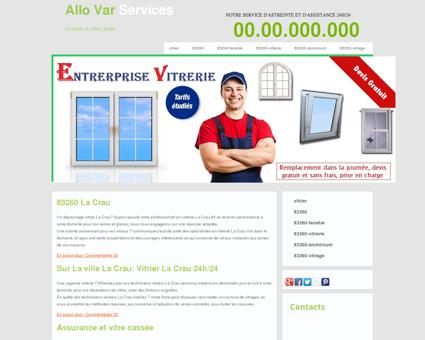 Vitrier 83260 La Crau - Denis triple vitrage