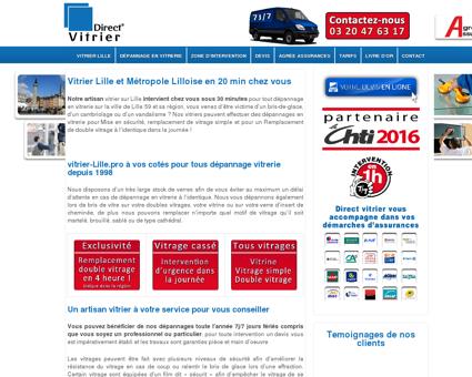Direct Vitrier Lille 59, remplacement de vitres...