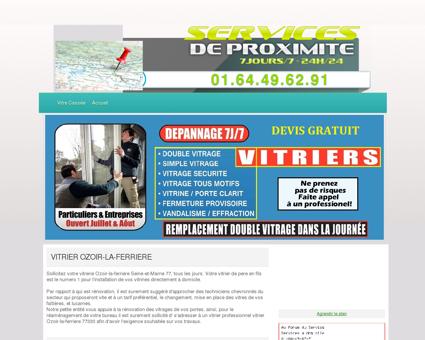 Vitrier Ozoir-la-ferriere - Entreprises Travaux...