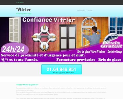 Vitrier Ozoir-la-ferriere Urgence projet et tarif...