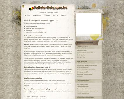 Pellets Belgique » Choisir son pellet (marque,...