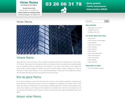 Vitrier Reims : pose de vitres et depannage -...