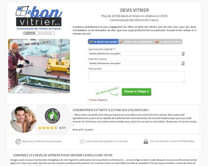 Vitrier Colombiers | lebonvitrier.pro
