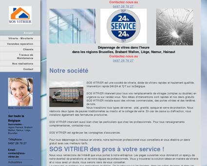 SOS VITRIER - Accueil