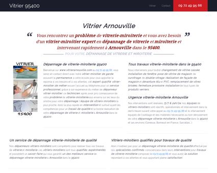 Vitrier Arnouville - 09 72 49 95 66 -...