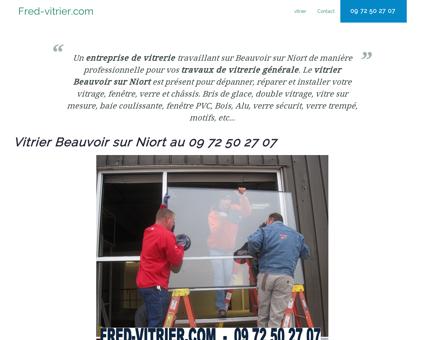 Entreprise de vitrerie Beauvoir sur Niort: 09 72...