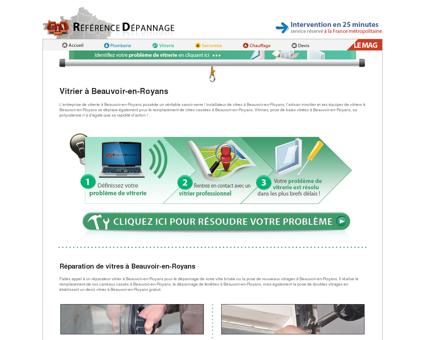 Vitrier à Beauvoir-en-Royans : réparation de...