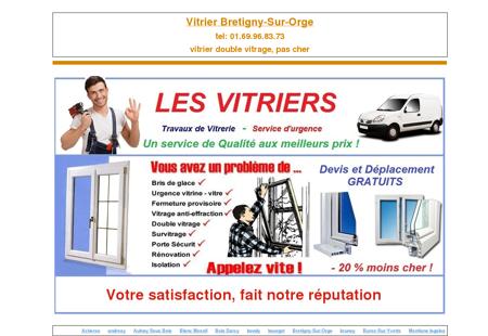 vitrier Bretigny-Sur-Orge, tel:...