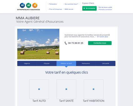 services Aubière